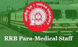 RRB Paramedical Exam Pattern and Selection Process 2019