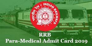 rrb-para-medical-admit-card