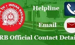 RRB Official Websites, Helpline Numbers, Email IDs: Check for Any Inquiry