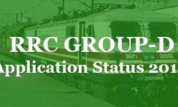 Railway RRB RRC Group D (Level 1) Application Status 2019 | Direct Link to Check Group D Application Form Accepted or Rejected