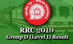 RRC Group D Result 2019 for CBT: Check Level 1 Merit List, Download Scorecard, @www.indianrailways.gov.in
