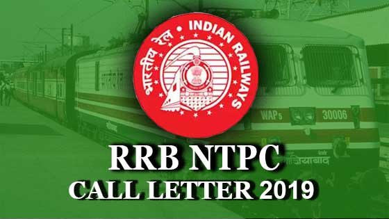 download rrb ntpc call letter 2019 for cbt 1