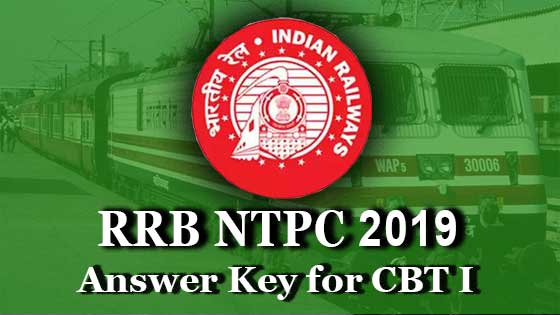 rrb ntpc cbt 1 answer key 2019 direct link