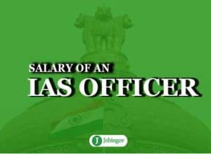 salary of an ias officer during training and facilities