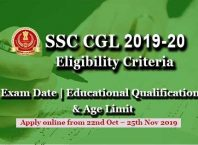 ssc-cgl-eligibility-criteria-2019-20-exam-date-age-limit-educational-qualification