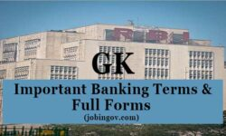 300+ Important Full Form of Banks and Banking Related Terms