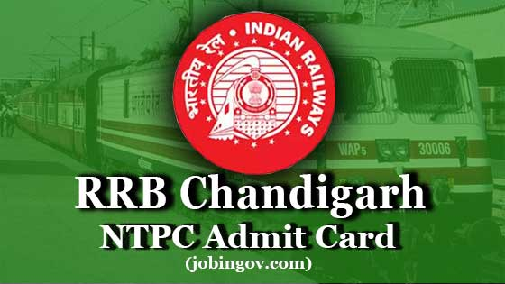 rrb-chandigarh-ntpc-admit-card-2020