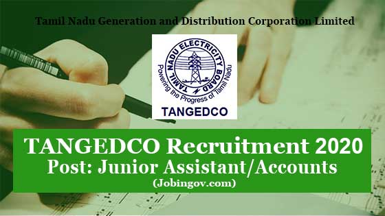 tangedco-junior-assistant-recruitment-2020