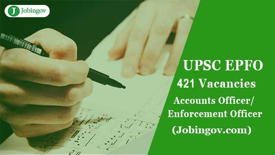 upsc-epfo-enforcement-officer-accounts-officer-recruitment