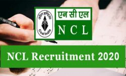 NCL Recruitment 2020: Apply Online for 359 Vacancies