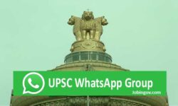 UPSC WhatsApp Group Links 2021