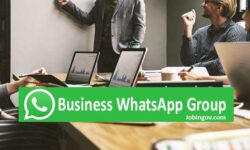 Business WhatsApp Group Links 2021