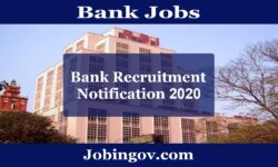 Bank Jobs 2020: Latest Govt & Private Bank Recruitment
