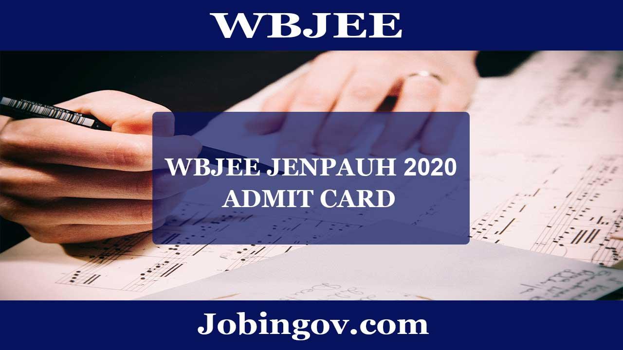 wbjee-jenpauh-admit-card-2020