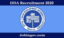 DDA Recruitment 2020: Apply Online for 629 Vacancies
