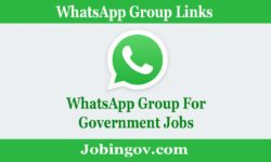 Government Job WhatsApp Group Link 2021