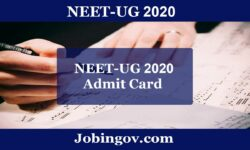 NEET Admit Card 2020: Release Date & Important Documents