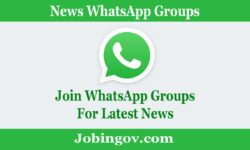 News WhatsApp Group Links 2021