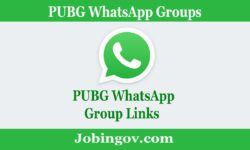 PUBG WhatsApp Group Links 2021