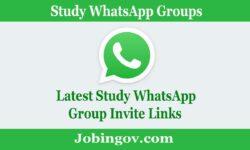 Study WhatsApp Group Link 2021