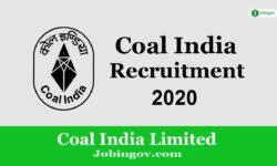 Coal India Recruitment 2020: Apply Online for 6600 Vacancies