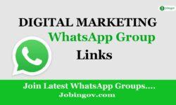 Digital Marketing WhatsApp Group Links 2021