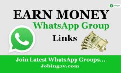 Earn Money WhatsApp Group Link 2021