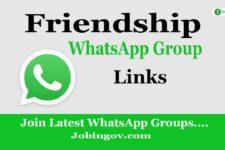 Friendship WhatsApp Group Links 2020