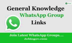 GK WhatsApp Group Link 2021