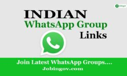 Indian WhatsApp Group Links 2021