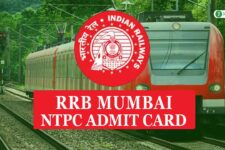 RRB Mumbai NTPC Admit Card 2020: Download for CBT 1, CBT 2, CBAT, TST & DV