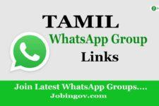 Tamil WhatsApp Group Link November 2020 Update