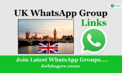 UK WhatsApp Group Link List 2021