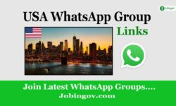 USA WhatsApp Group Link 2021