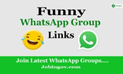 Funny WhatsApp Group Links 2021