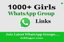 Girls WhatsApp Group Links November 2020 Update