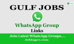 Gulf Job WhatsApp Group link 2021