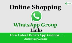 Shopping WhatsApp Group Links 2021