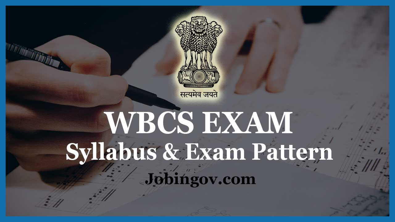 wbcs-syllabus-exam-pattern