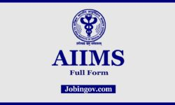 What is the Full Form of AIIMS?