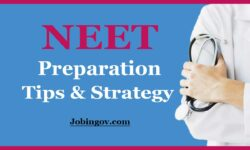 NEET Preparation Tips and Strategy: How to Prepare for NEET 2021?