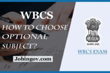 How to Choose Best Scoring Optional Subject for WBCS Main?