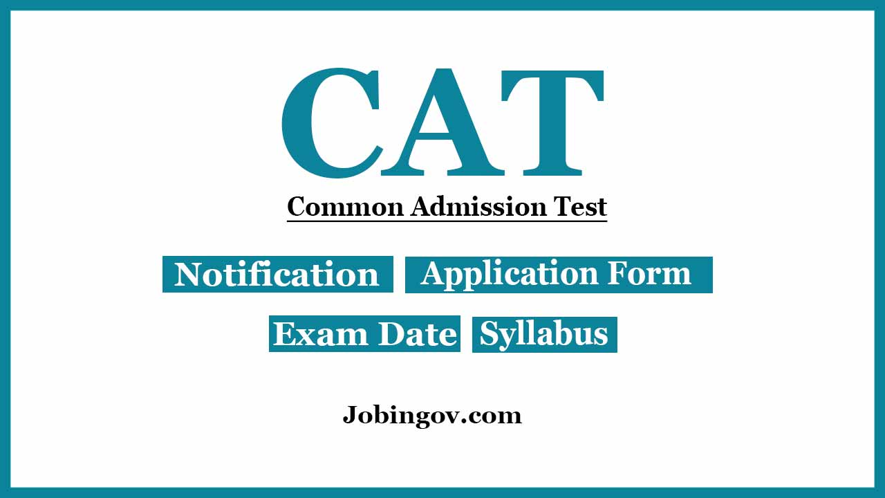 cat-exam-2020-notification-application-form-exam-dates-syllabus