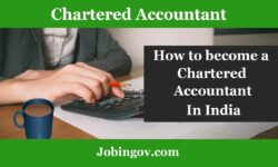 Chartered Accountant in India after 12th and Graduation