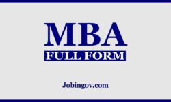 Full Form of MBA and Top MBA Colleges in India