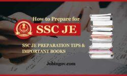 SSC JE Preparation 2020