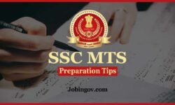 SSC MTS Preparation Tips 2020
