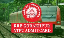 RRB Gorakhpur NTPC Admit Card 2020 for CBT-1