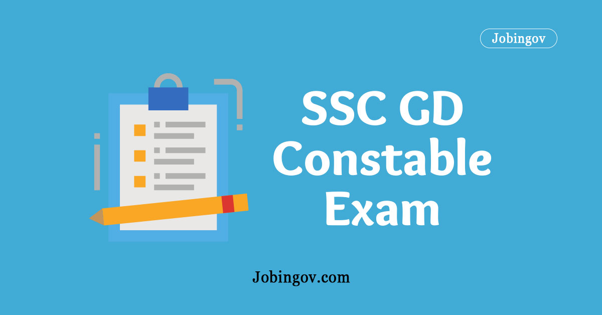 SSC GD Constable Exam 2021