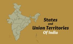 States and Union Territories of India 2021